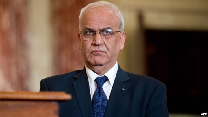 عريقات يكشف في تقريره للقيادة الفلسطينية تفاصيل خطة التسوية الأمريكية الجديدة