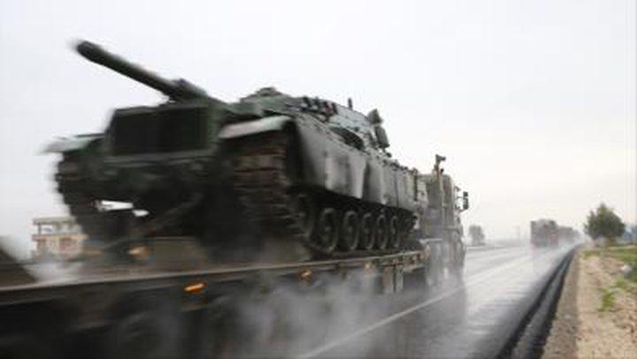 قصف تركي لعفرين السورية بعد انسحاب روسي منها