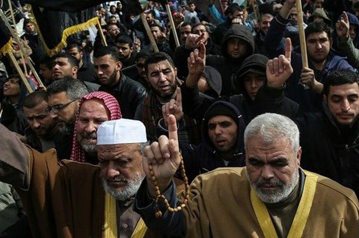 الجهاد تدعو الأمة العربية والإسلامية لدعم الشعب الفلسطيني