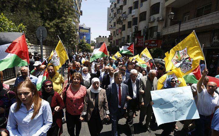 """""""فتح"""" تدعو إلى تصعيد المقاومة وتحويل حياة المستوطنين إلى جحيم والثلاثاء إضراب عام"""