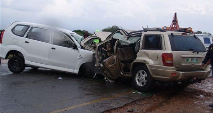 4 إصابات بين طفيفة ومتوسطة في حادثي سير