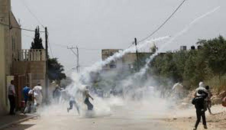 إصابة 3 شبان خلال مواجهات مع الاحتلال