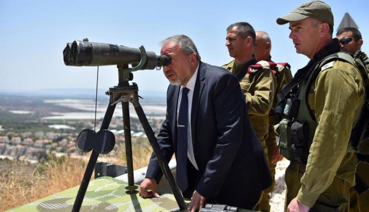 ليبرمان يتهم حماس بالسعي لإنشاء بنية تحتية عسكرية في جنوب لبنان