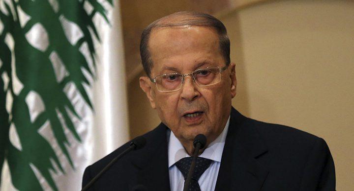 الرئيس اللبناني: الجدار الإسرائيلي يعارض جهود حفظ الأمن