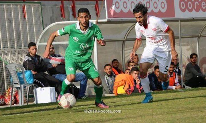 اتحاد الشجاعية يهزم غزة الرياضي في مباراة مثيرة