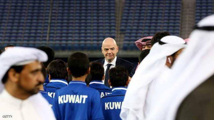 الفيفا يعين لجنة لإدارة الاتحاد الكويتي وإجراء انتخابات