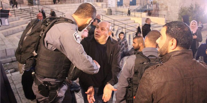 اصابة 3 شبان خلال مواجهات مع الاحتلال وسط القدس