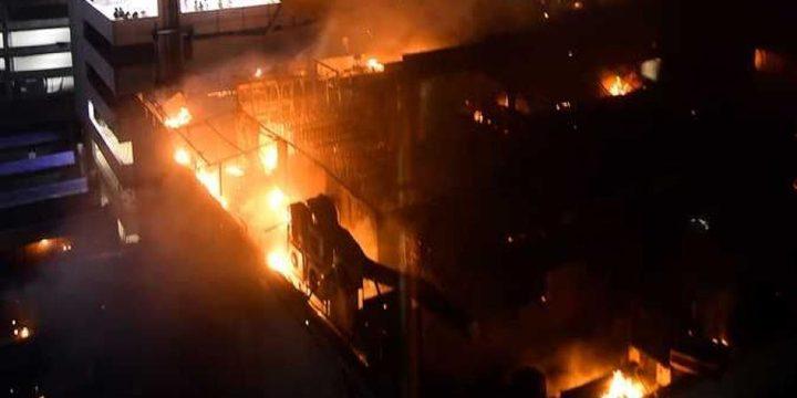 17 قتيلا على الأقل بحريق في مصنع بلاستيك بالهند