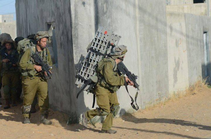 تدريبات لجيش الاحتلال تحاكي احتلال مناطق بغزة ولبنان