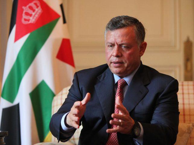 عاهل الأردن يبحث تطورات القضية الفلسطينية مع وفد لمجلس العلاقات العربية والدولية