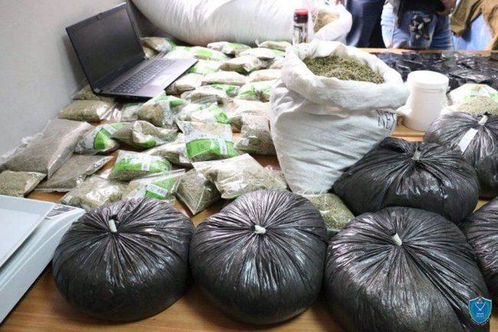 الشرطة تضبط أكثر من 62 كلغم مخدرات الأسبوع الماضي