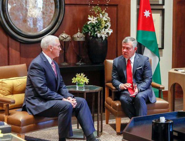 ملك الأردن لبنس: لا بدل عن حل الدولتين
