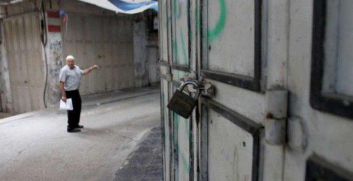 """بسبب """"الانهيار الاقتصادي"""".. إضراب تجاري شامل في غزة اليوم"""