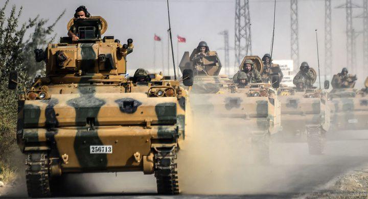 القوات التركية توسع الزحف نحو عفرين السورية