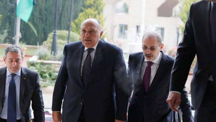 الأردن ومصر يبحثان تداعيات قرار ترامب