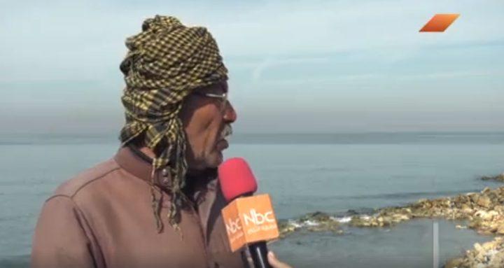 تآكل وانجراف المنطقة الساحلية في مخيم الشاطئ بغزة (فيديو)