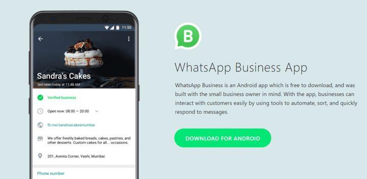 أبرز مزايا تطبيق whatsapp business