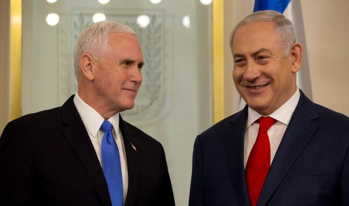 بنس لن يرى إسرائيل على حقيقتها ...لأن ذلك قد يفقده عقله!