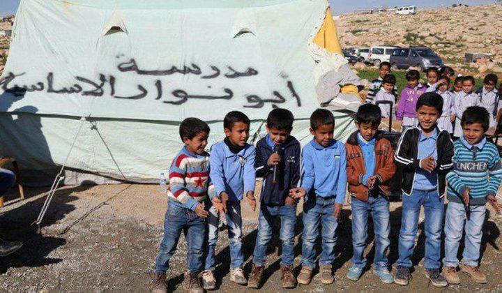 """الحسيني: هدم مدرسة أبو النوار جزء من المشروع الاستيطاني """"E1"""""""