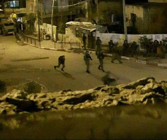 الاحتلال يقتحم برقين... واندلاع مواجهات واصابات