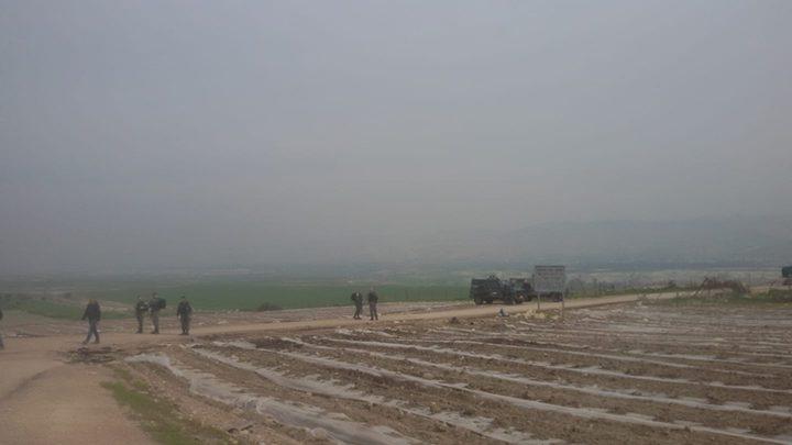 الاحتلال يدمر خطوط مياه في الأغوار ويستولي عليها