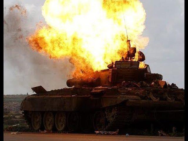 استهداف دبابة تركية في عفرين