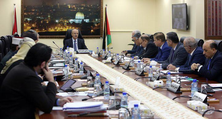 مجلس الوزراء يقرر البدء بإعداد الخطط والمشاريع لخطوات فك الارتباط مع الجانب الإسرائيلي
