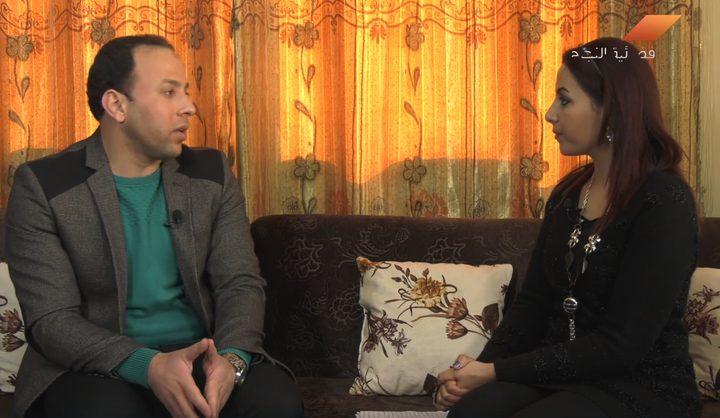 الشاعر عمر أبو شاويش من قطاع غزة(فيديو)