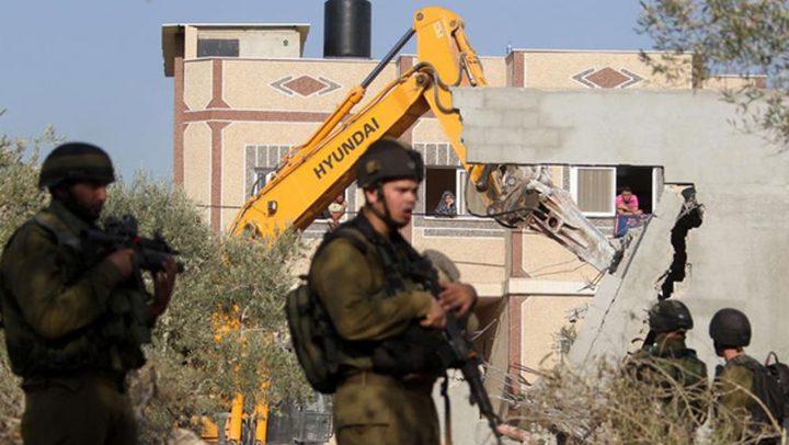 الاتحاد الأوروبي يدعو إسرائيل لوقف هدم البيوت