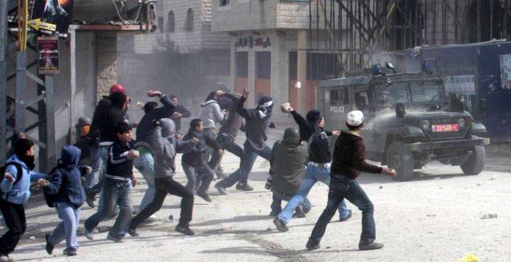 اصابات برصاص الاحتلال والاختناق خلال مواجهات في اليامون