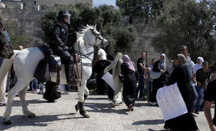 """""""الخارجية والمغتربين"""" تحذر من استخدام الاحتلال للقوة المفرطة بحق شعبنا"""