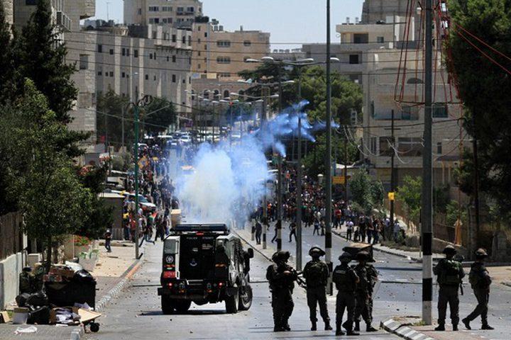 الاحتلال يعتقل أربعة طلبة خلال قمع مسيرة في بيت لحم