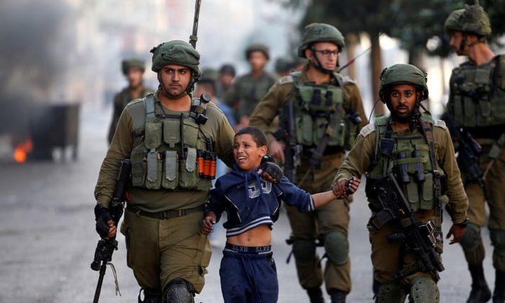 الاحتلال يعتقل طفلاً قرب معسكر سالم