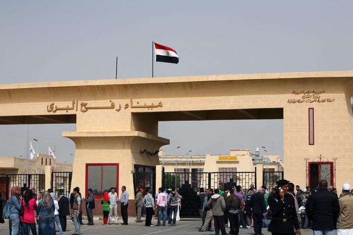 سفارة فلسطين بالقاهرة : فتح معبر رفح البري لمدة ثلاثة ايام في الاتجاهين