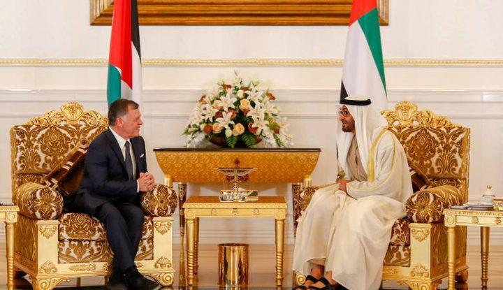 الملك عبد الله ومحمد بن زايد: القدس مفتاح السلام بالمنطقة