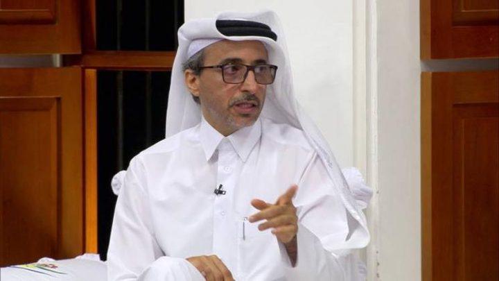 وزير قطري: شعبنا لا ينسى بناء الفلسطينيين قطر الحديثة