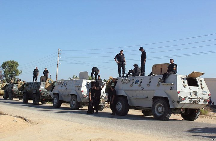 تعزيزات أمنية في شمال سيناء تمهّد لعملية واسعة