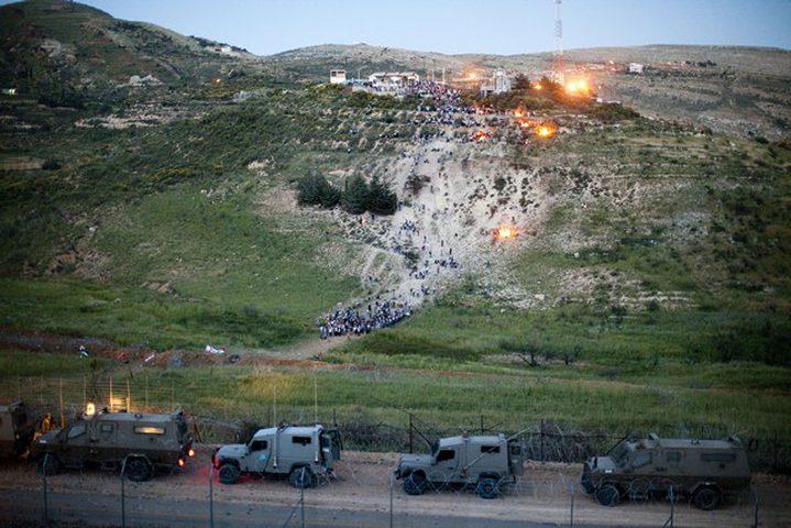 """""""إسرائيل"""": إطلاق نار من سوريا يسفر عن أضرار بمنزل في الجولان"""