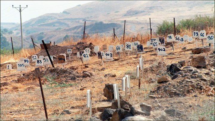 260 شهيداً في مقابر الأرقام و19 شهيداً في ثلاجات الاحتلال
