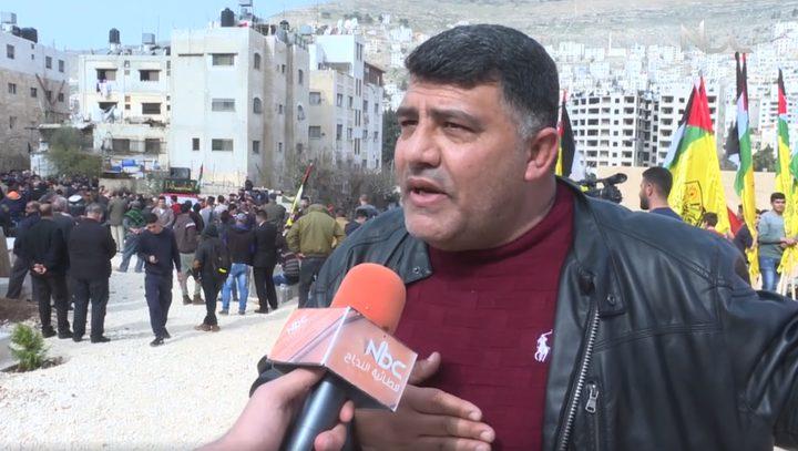 نابلس توّدع الشهيـد خالد التايه (فيديو)