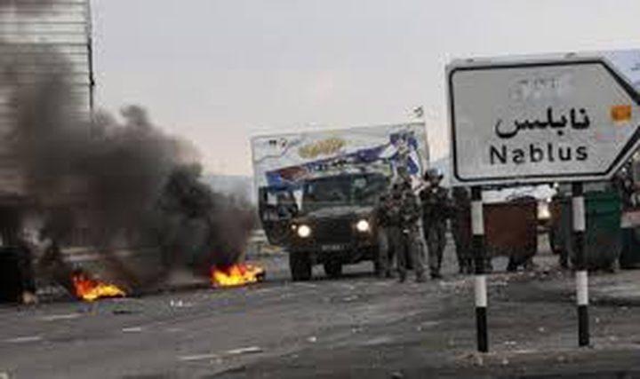 إصابات إثر المواجهات المندلعة في نابلس