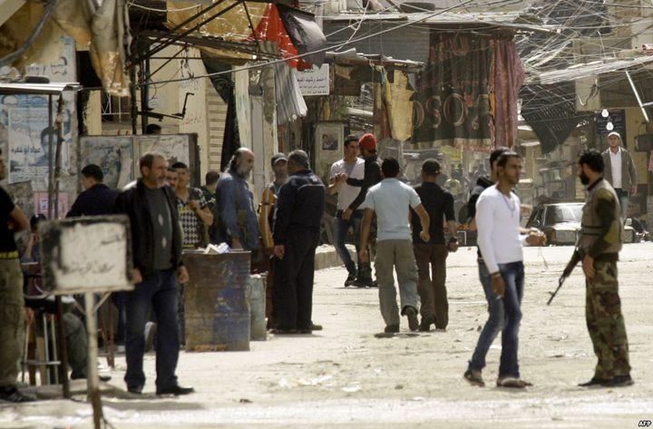 قتيل و3 جرحى في اشتباكات مسلحة داخل مخيم عين الحلوة بلبنان