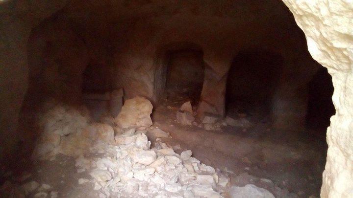 اكتشاف مقبرة اثرية تعود الى الفترة البيزنطية
