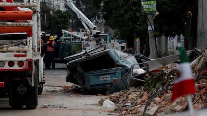 زلزال بقوة 5.8 درجة يضرب ساحل المكسيك