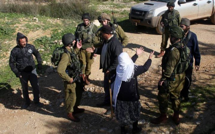 الاحتلال يعلن المزرعة الغربية منطقة عسكرية مغلقة