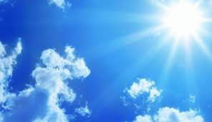 حالة الطقس حتى يوم الاثنين