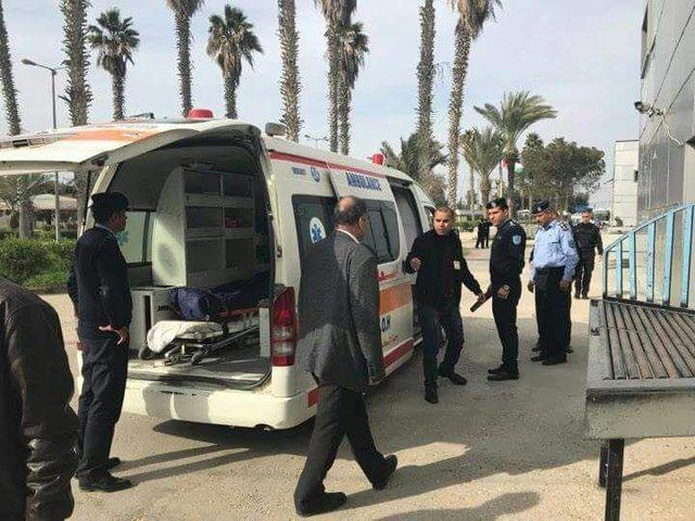 دخول جثمان مواطن إلى قطاع غزة عبر معبر رفح البري