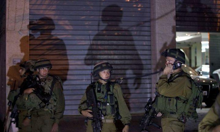 الاحتلال يقتحم عدة أحياء في نابلس