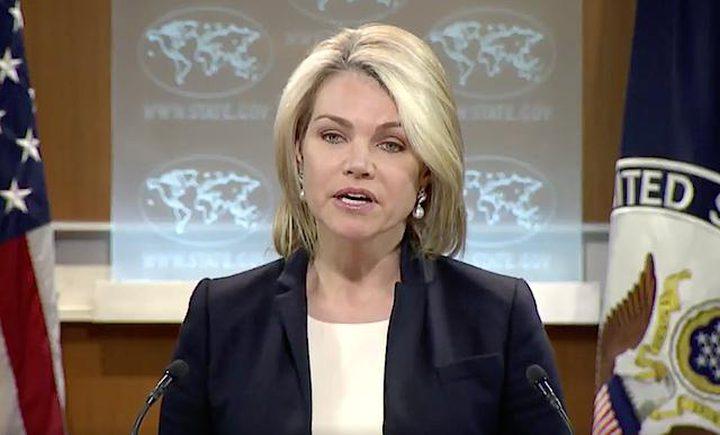 الخارجية الأمريكية: واشنطن تدعم حق إسرائيل في الدفاع عن نفسها