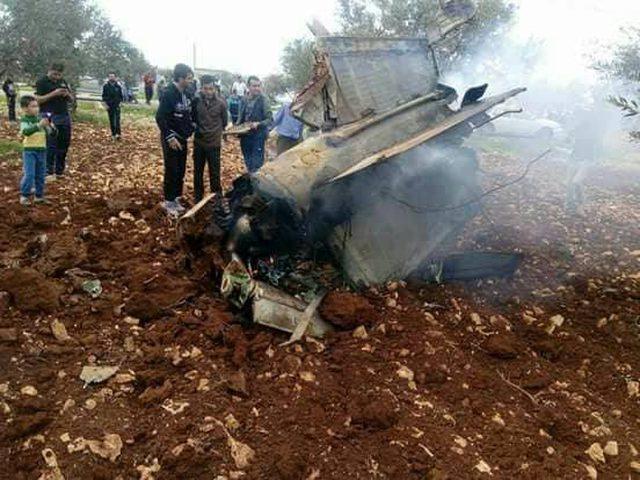 سقوط حطام لجسم عسكري في إربد